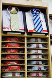 Shirts with necktie Royalty Free Stock Images