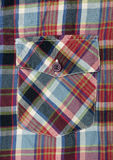 Shirts Pocket Stock Photo