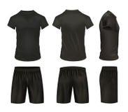 Shirts And Shorts Icon Set Royalty Free Stock Photo