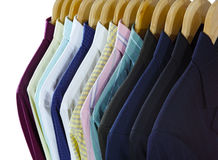 Shirts and Suits Front Stock Photography