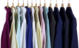 Shirts and Suits Royalty Free Stock Photo