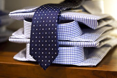 Shirts and tie Royalty Free Stock Photography