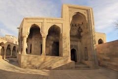 Shirvanshahs陵墓在巴库,阿塞拜疆 库存照片
