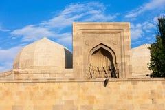 Shirvanshahs pałac w Baku obrazy stock