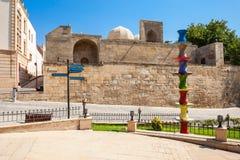Shirvanshahs pałac w Baku fotografia royalty free