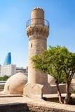 Shirvanshahs pałac w Baku fotografia stock