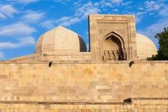 Shirvanshahs Palace in Baku royalty free stock image