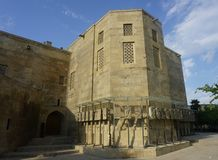 Baku Shirvanshahs Museum Courtyard View royalty free stock photos