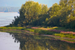 shiryaevskiy海湾 免版税图库摄影