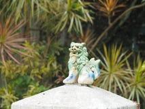 Shisa - guardian lion in Okinawa, Japan royalty free stock images