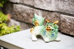 Shisa Lion stock photo