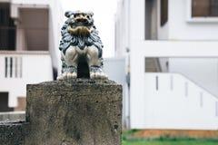 Shisa in Okinawa, Japan. Shisa statue in Okinawa, Japan Royalty Free Stock Images