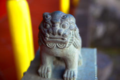 Shisa of Shuri Castle Royalty Free Stock Photo
