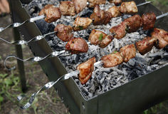 Shish a grill royalty free stock photography