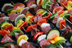 Shish-K-Bobs Stock Photo