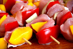 Shish kabob Stock Photography