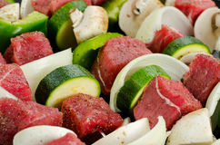 Shish Kabobs Royalty Free Stock Photos