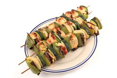 Shish Kabobs Stock Photo