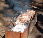 shish kebab медника стоковые фото