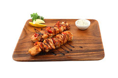 Shish kebab Royalty-vrije Stock Afbeelding
