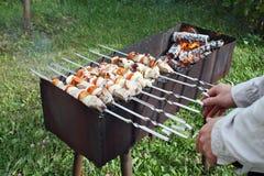shish kebab Стоковое Фото