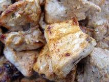 Shish kebab. Shashlik are prepared to the golden crust Stock Photography