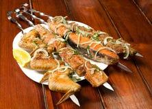 Shish kebab Royalty Free Stock Photos