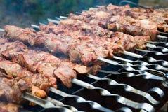 Shish kebab Royalty Free Stock Photo