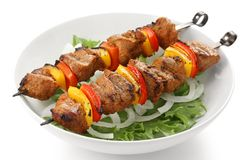 Free Shish Kebab Royalty Free Stock Photo - 19429445