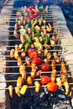 Shish kebab Royalty Free Stock Images