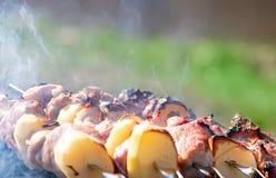 Shish kebab lizenzfreie stockfotografie