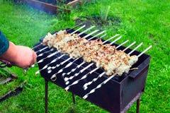 Shish kebab Royalty Free Stock Photography