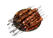 Shish kebab Royalty Free Stock Photo