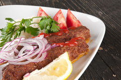 Shish kebab obraz stock