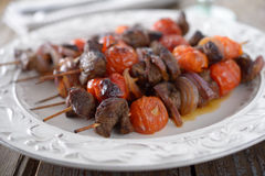 Shish kebab Stock Photography