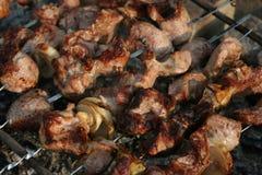 Shish kebab στοκ φωτογραφία με δικαίωμα ελεύθερης χρήσης