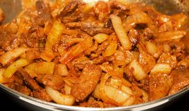 shish kebab Стоковое Изображение