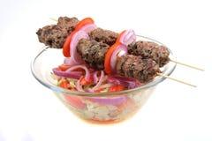 Shish kebab Stockfotografie