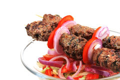 Shish kebab Stock Images