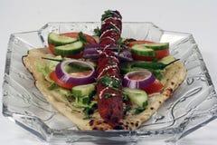 Shish kebab Stock Photo