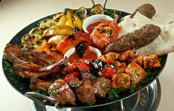 Shish kebab mix Stock Photography