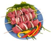 Shish kebab from pork. Stock Images