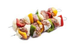 Shish kebab on skewers Royalty Free Stock Photos