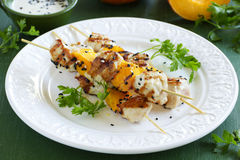 Shish kebab from Turkey Royalty Free Stock Image