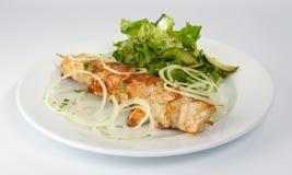 Shish kebab van de kip. Stock Foto