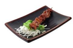 Shish kebab vom Hammelfleisch Lizenzfreies Stockfoto