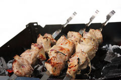 Shish kebab3 Royalty Free Stock Images
