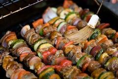 shish kebabs решетки Стоковые Фотографии RF