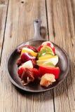 shish kebabs сырцовое Стоковые Фото