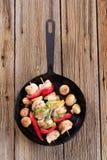 shish kebabs цыпленка Стоковое Фото